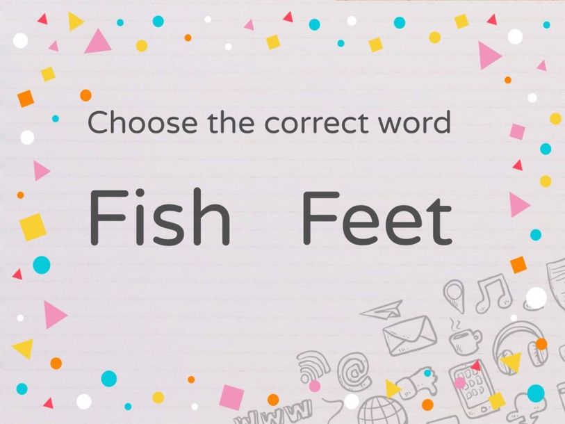 Fish or Feet by trinh vo