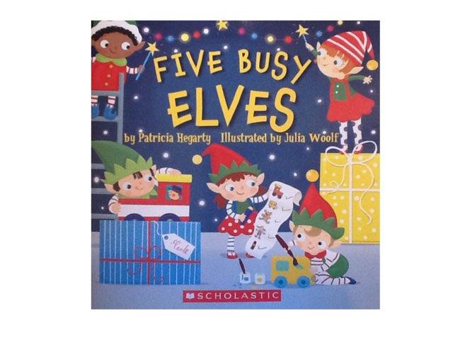 Five Little Elves Book (shortened) by Jenn Hawkes