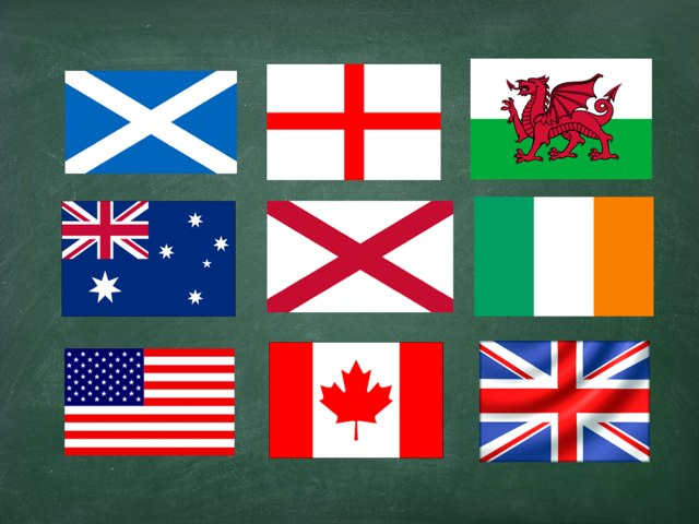 Flags and Nationalities of the English World by steven huitorel