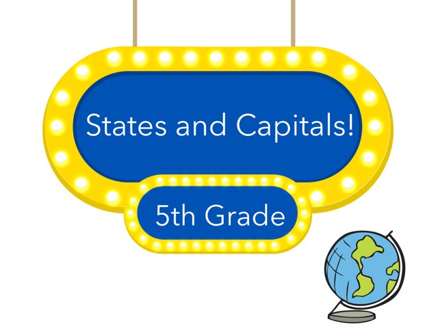 Foltz 5th Grade States And Capitals by Kirsten Jackson