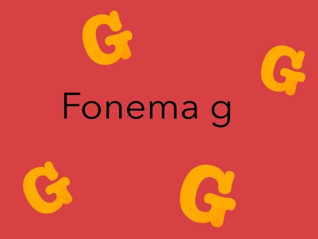 Fonema G by Nicolle Rios