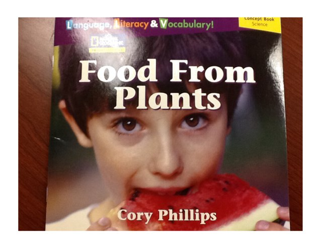 Food From Plants by Maria Miller