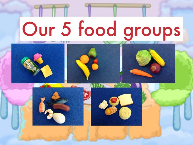 Food Group Hunt by Michelle Sullivan