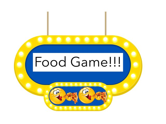 Food game - Harper  by Kim Deveaux