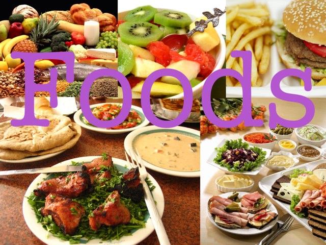Foods by Vanessa Wei