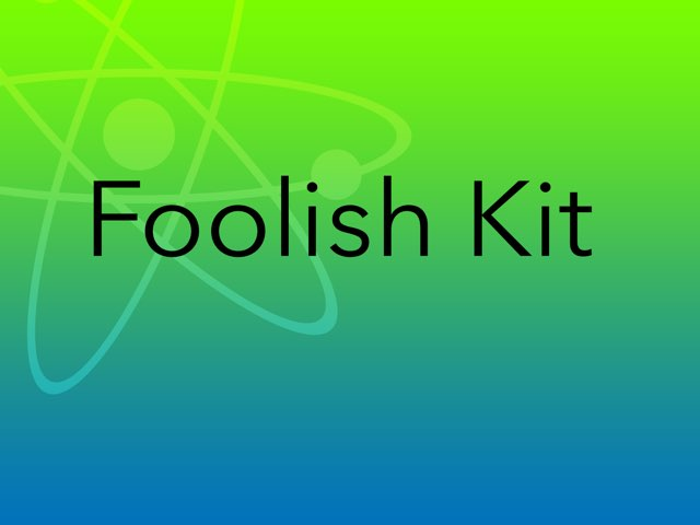 Foolish Kit Ep-1 by Aaina mohapatra