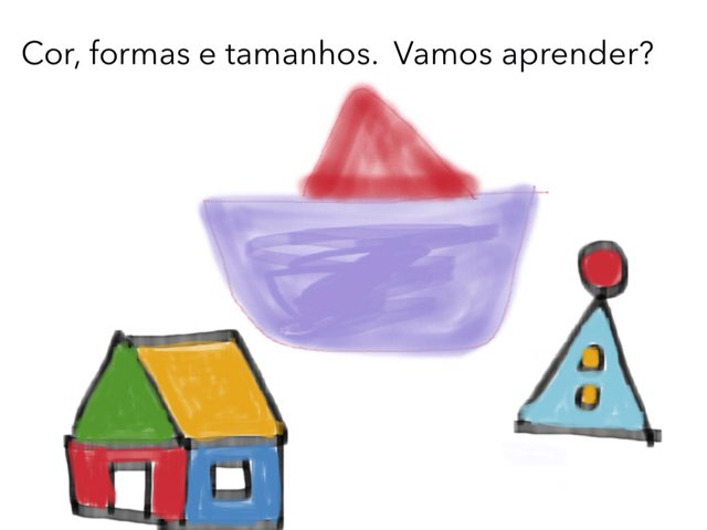 Formas e Cores by Escola lápis de cor