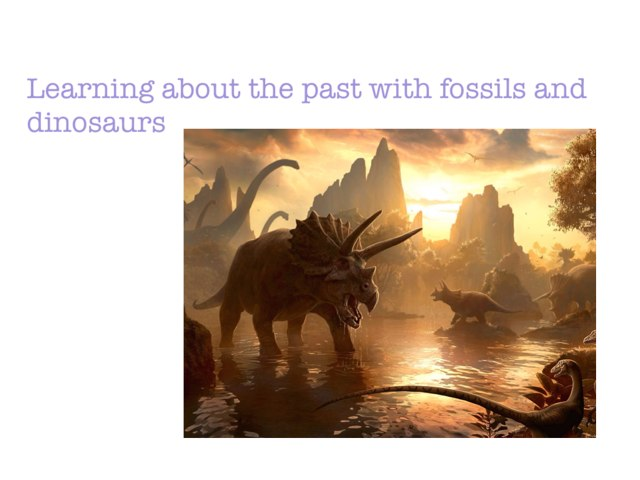 Fossils And Dinosaurus by Micaela Mica