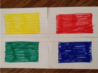 Four Basic Colors by Cary Varela