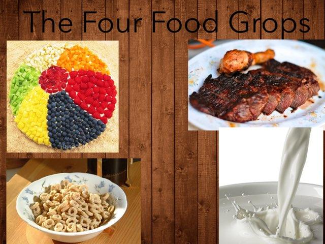 Four Food Groups by Jennifer Alexander
