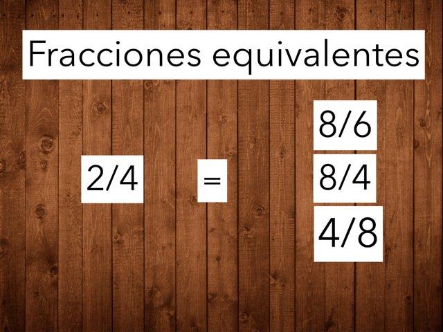 Fracciones Equivalentes by Xavi González Ibáñez