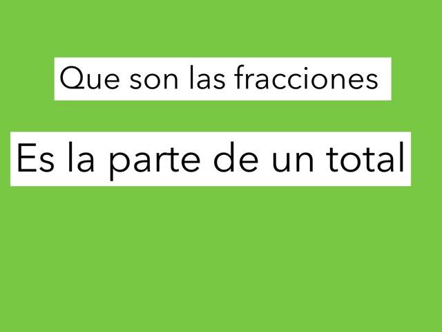 Fracciones by Jose Lledó Domingo
