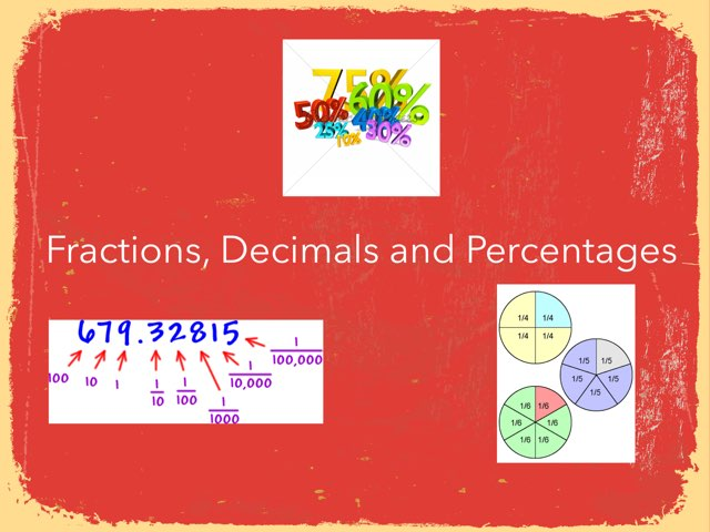 Fractions, Decimals and Percentages by Sandford Hill