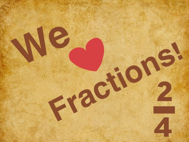 Fractions by Jennifer Nelson