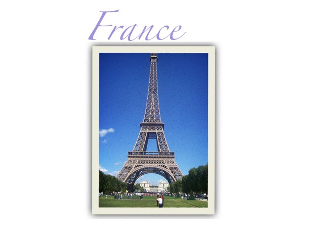 France by Maia carter
