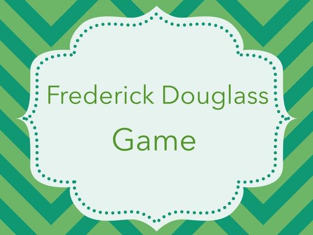 Frederick Douglass  by Cristina Chesser
