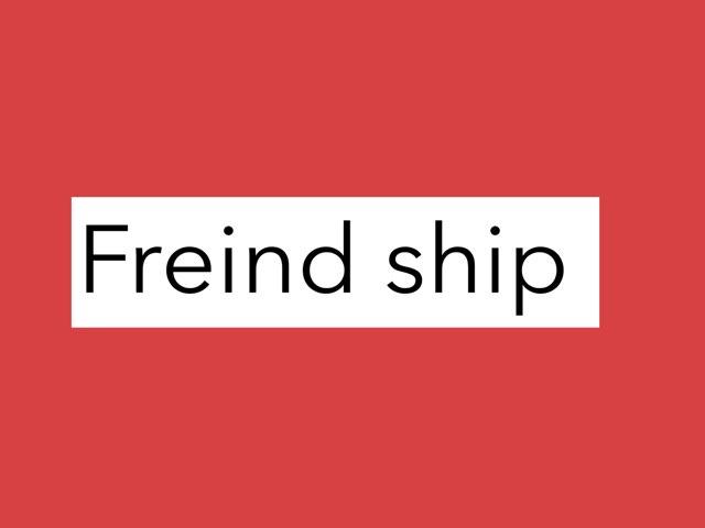 Freind ship by Pradhi Deshmukh
