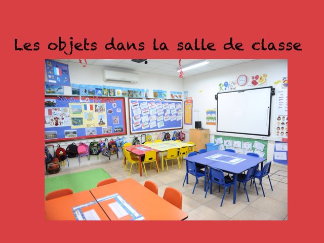 French Class Objects by Alicia svonavec