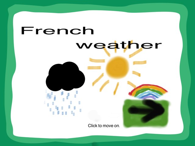 French Weather by Mrs Rawlinson