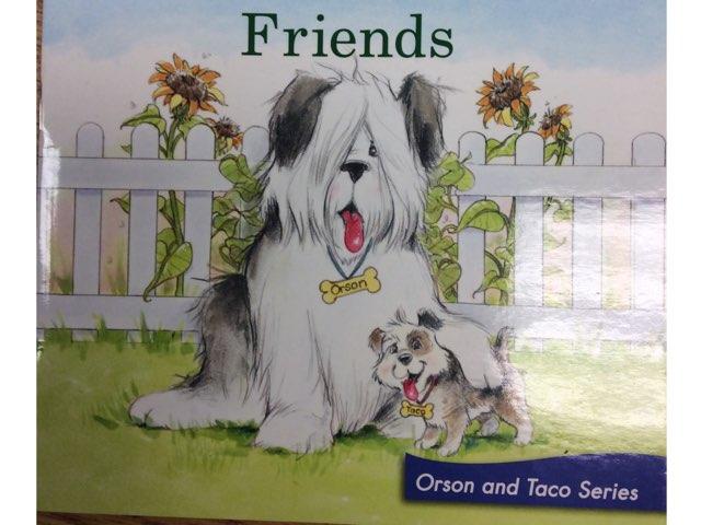 Friends LLI Green Book 4 by Chanel Sanchez