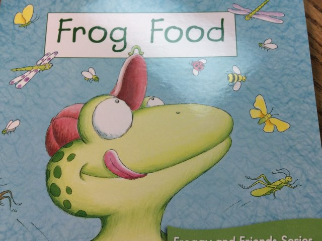 Frog Food Vocabulary Activity LLI Green Book 2 Level A HCPSS by Chanel Sanchez