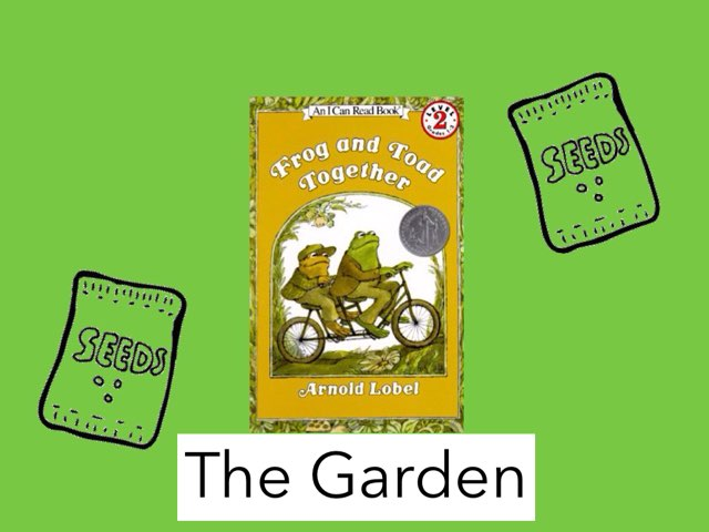 Frog and Toad Together (The Garden) Vocabulary by Jennifer Klostermann