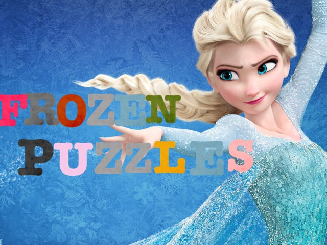 Frozen Puzzles by Emily Hyde