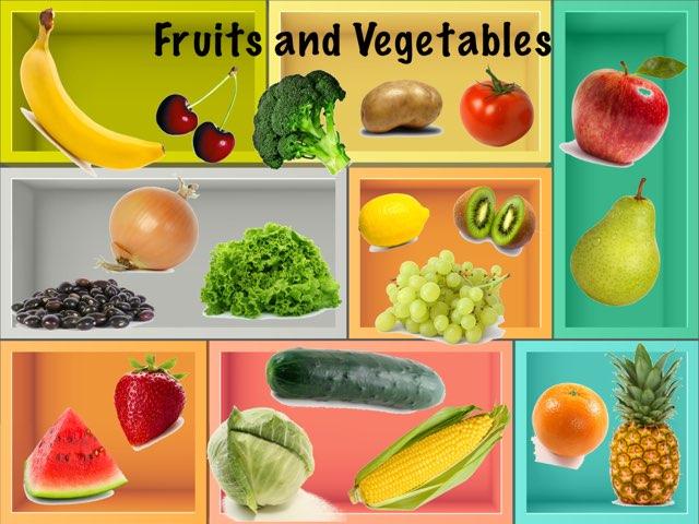 Fruits and Vegetables Quiz by Amanda Metzler