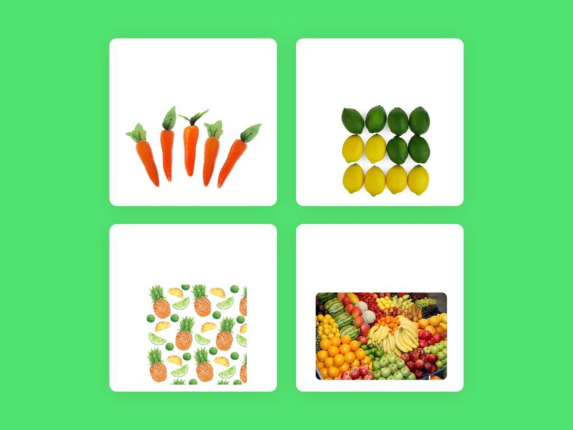 Fruits and vegetables by Gisella Diniz