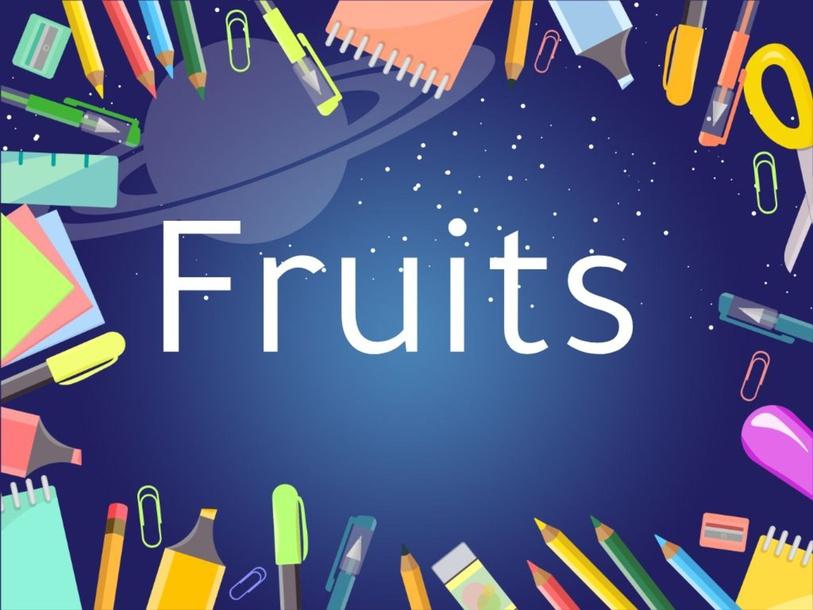 Fruits by กถิน พรมแก้ว