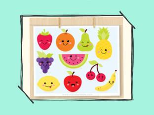Fruits game by Agustina Suarez
