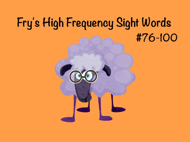 Fry Sight Words 4 by Ellen Weber