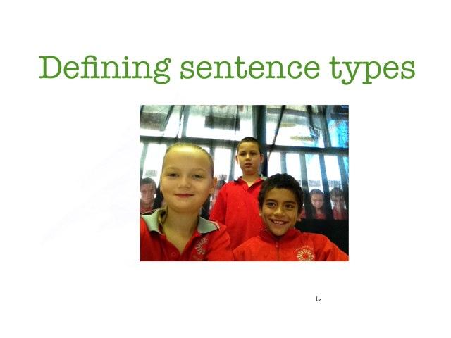Fun Sentence Types  by Krystal Wiggins