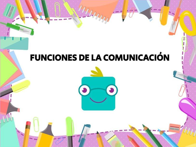 Funciones de la comunicación by Brendita Telón