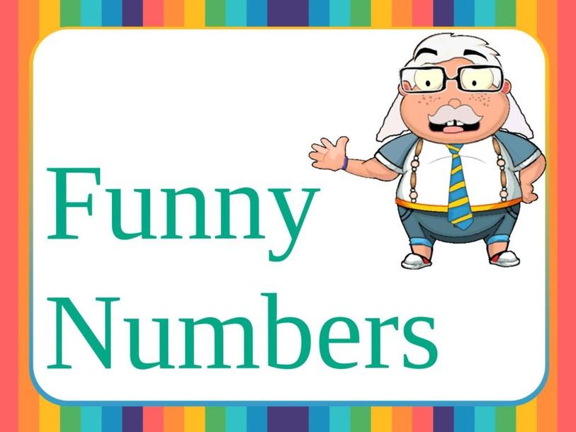 Funny Numbers by Samah Mashali