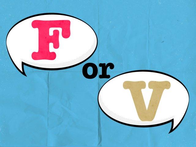 F/v Identification by Jen Biener