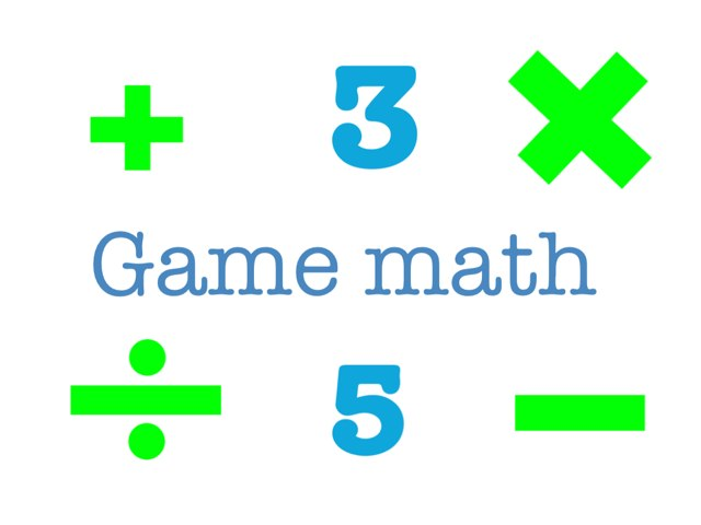 GAME MATH by Diea Kurd