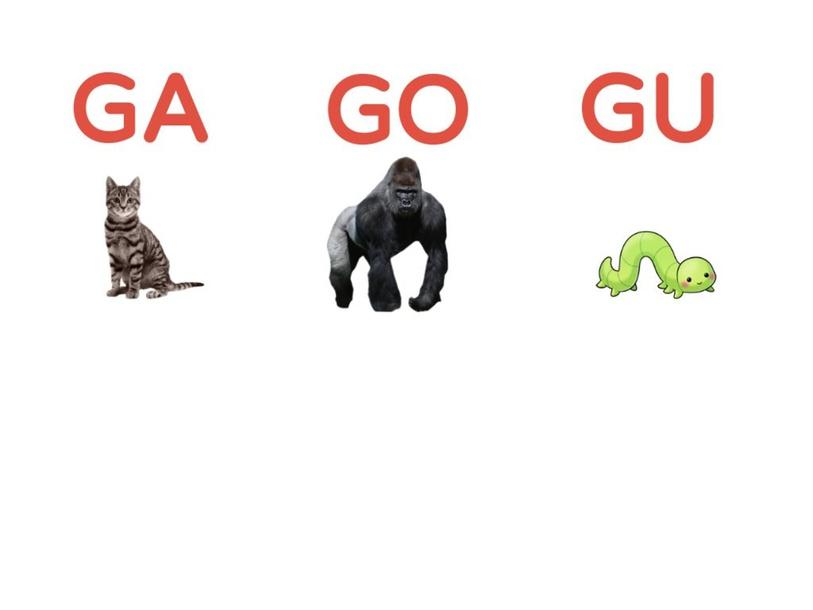 GA GO GU by Romina Mancini