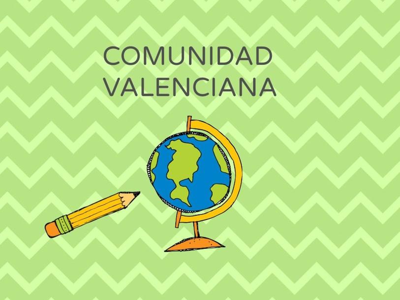 GEOGRAFÍA FÍSICA COMUNIDAD VALENCIANA by María Martínez