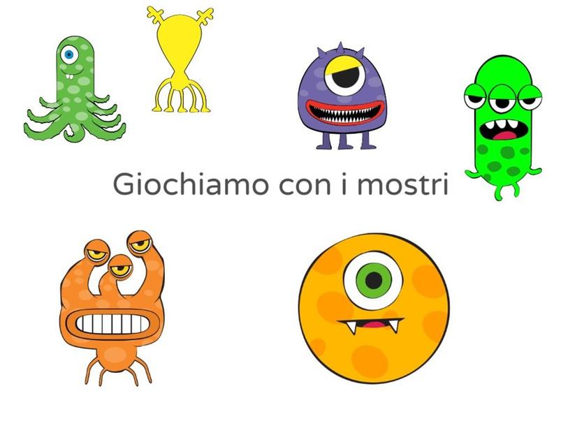 GIOCHIAMO CON I MOSTRI by Giuseppina Castellano