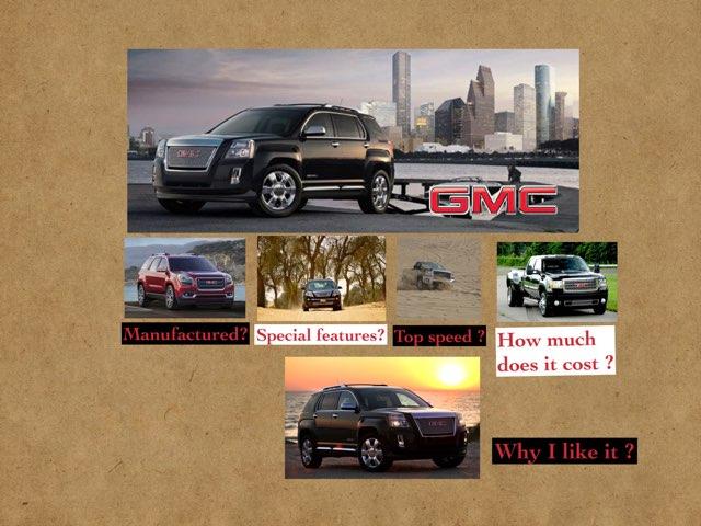 GMC Car by Mahra suliman