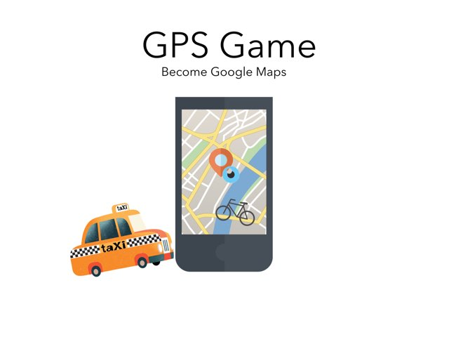 GPS Game by Cathie Gillner