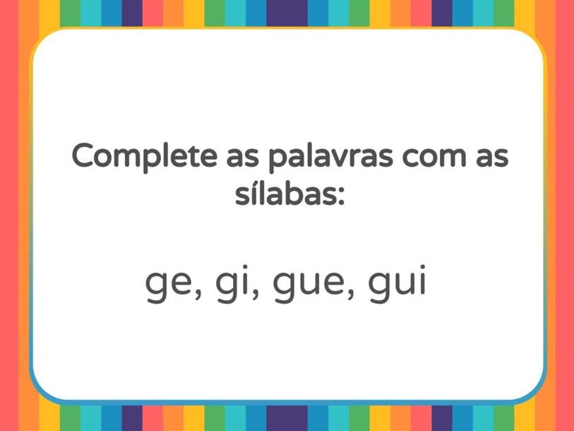 G ou GU? by Lia Trimer Trimer