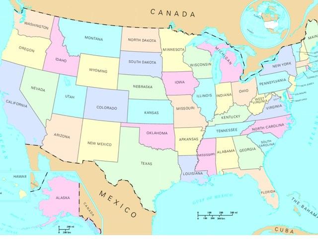 Map by Karen Gruener