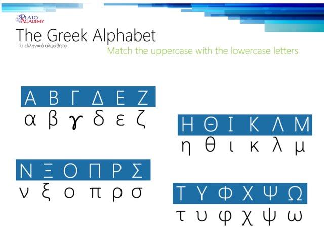 Greek Alphabet Sounds by Bill Mit