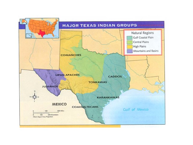 Native American Tribes of Texas by Donna Powell