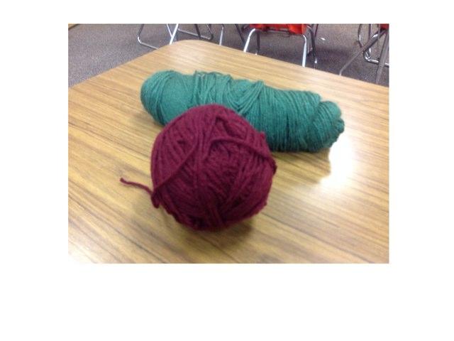 Yarn example  by Trish Lopacienski