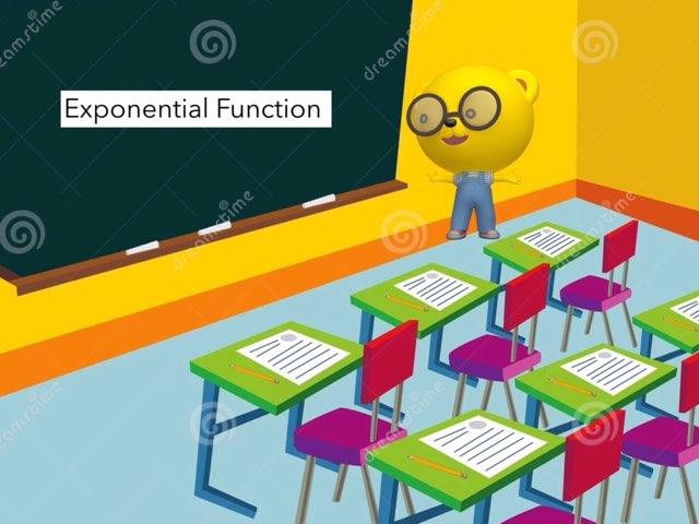 Exponential function  Math game Hridhi Islam  by Hridhi islam