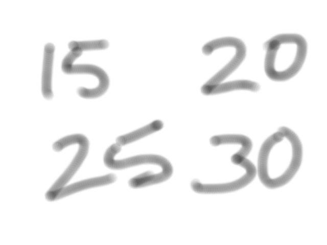 Numbers by Darren Nott