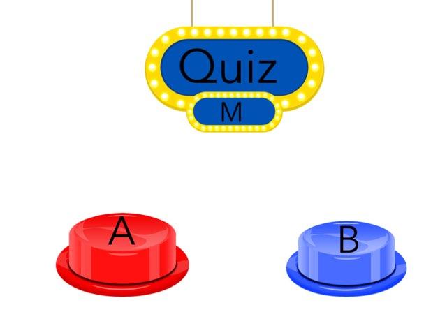 Quiz M by cat cat